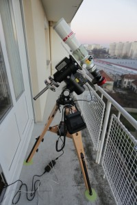 Observatoire improvisé
