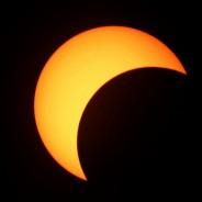 Venez observer l'éclipse partielle !