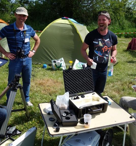 5 membres de l'Association Astronomique Auboise présents aux NAT 2016