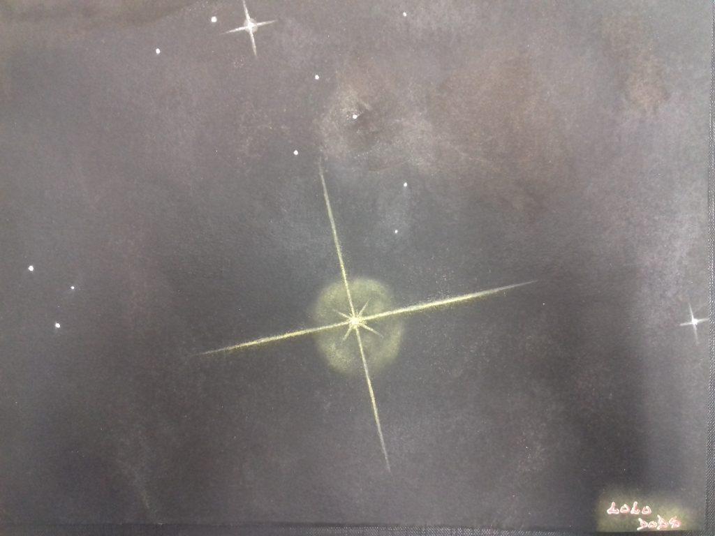 Astro-dessin réalisé par Laurent Fouchard